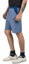 I Bulls Striped Blue Shorts, Half Pant, Bermuda, Capris For Casual Wear [BD 5]