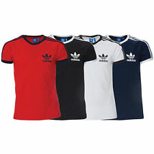 Adidas Essentials Originals Mens California Retro Crew Neck Short Sleeve TShirt