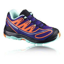 Salomon XA Pro 2 Trail Boys Girls Purple Running Shoes Sports Trainers