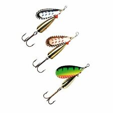 ABU GARCIA CLASSIC DROPPEN 3 PACK SPINNER FISHING LURE PIKE PERCH TROUT