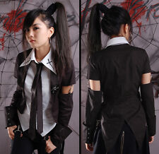 Chemise veste trompe-l'oeil gothique punk lolita cravate queue-de-pie Punkrave