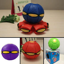 Outdoor Flying UFO Flat Silicone Novelty Throw Disc Deformed Ball Frisbee (S260)