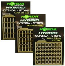 Korda Hybrid Bait/Extenda Stops / Small / Medium / Large / Carp Fishing