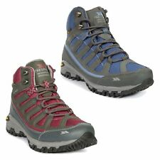 Trespass Tensing Womens Hiking Boots Ladies Walking Trainers in Grey