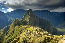 Poster / Leinwandbild Machu Picchu, ancient ruins, UNESCO world... - H. Garber