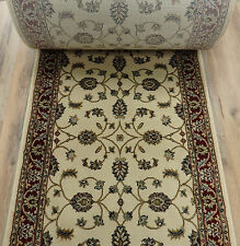 """157618 26/"""" Wide Rug Depot Hall and Stair Runner Remnants Royale Red"""