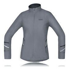 Gore Mythos Active Shell Light Windstopper Donna Grigio Caldo Giacca Top