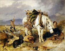 Poster / Leinwandbild The Wood Cutter - Sir Edwin Landseer