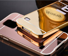 *LUXURY MIRROR ALUMINIUM METAL*Bumper Back Cover Case For*SAMSUNG GALAXY S5*