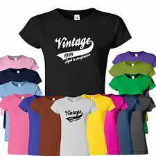 Vintage 1998 ladies T-Shirt 21th Birthday Party Gift Perfection Top Tee T Shirt