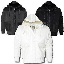 Mens Daniel Lei 'FS01' Hooded Padded Quilted Jacket Winter Coat Chunky S-XL