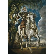 1603 Peter Paul Rubens Equestrian Portrait Of The Duke Of Lerma Painting Poster