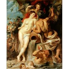 1618 Peter Paul Rubens The Union Of Earth And Water Art Painting New Art Poster