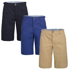 Trespass Williams Mens Casual Shorts Cotton Knee Length Pants
