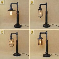 New Industrial Machine Age Steampunk Table Desk Lamp