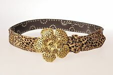 CINTURA CAVALLINO FANTASIA BABY LEOPARD DONNA WILLIAM WALLACE 16D4