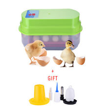 Hatching 15 Eggs Automatic Eggs Incubator Kit For Chicken Duck Reptile EU/US/UK