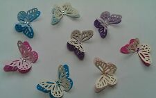 3D 2 tone Butterflies Wedding, card making, Choose your colours Made to Order