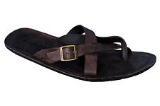 MARDI GRAS BRAND MENS BROWN CASUAL SLIPONS SANDAL 6052
