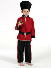 Royal Guard Costume Kids Soldier Fancy Dress Military Uniform School Pantomime