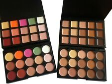 15 Color Concealer Palette with Brush Face Makeup Contour Cream, Palette CL1&CL2