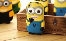 Cute Soft Cartoon Silicon Minion Back Case Cover for Apple Iphone SE 5/5S,  6/6S