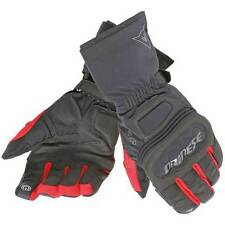 Dainese Rainlong D-Dry D Dry Motorcycle Motorbike Gloves Black / Red