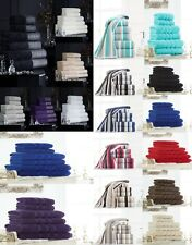 100% Egyptian Cotton Plain Hand Towels, Bath Sheet and Bath Towels 600 GSM