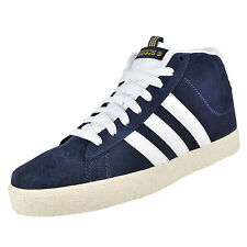 Adidas Hommes BB Neo ST Daily Mi-montantes Baskets Cuir Daim