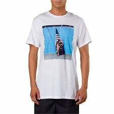 VANS WHITE MENS BABERHAM LINCOLN T-SHIRT  All Sizes