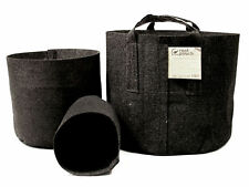Root Pouch Breathable Fabric Plant Pots - GREY - CHOOSE SIZE