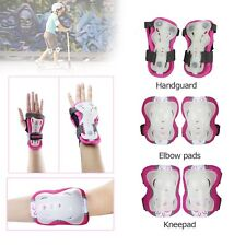 Kids Outdoor Ski cycle Skate Knee Guard Elbow Wrist Safety Pad Protective Gear