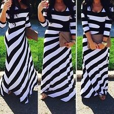 New Sexy Women Boho Bodycon Evening Party Dress Summer/Beach Long Maxi Sundress