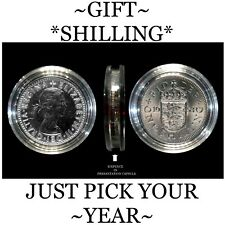 BIRTHDAY CARD NOVELTY ,SHILLINGS, 1947-1966 IDEAL SMALL   GIFTS**