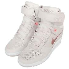 Wmns Nike Air Revolution Sky Hi Grey Gold Womens Wedges Shoes Sneaker 599410-018