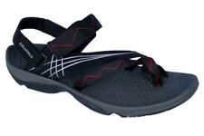 Columbus Brand Mens Black Red Sports Sandal - Casino