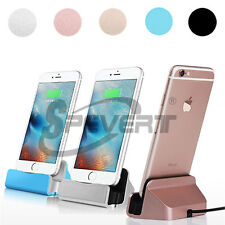 Mini Desktop Caricabatterie Dock Station Stand Charger Cradle per iPhone 6S iPod