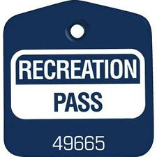 Recreational Pass Blue, Package Of 100
