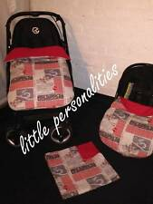 vehicle plane travel stay put blanket carseat blanket/footmuff/apron or blanket