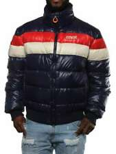 CRUST VAL D'ISERE 70' NI NAVY/ROSSO/PANNA M7L1143 Giacca invernale piumino Uomo