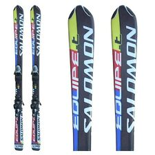 Ski occasion junior Salomon Equipe T + fixations