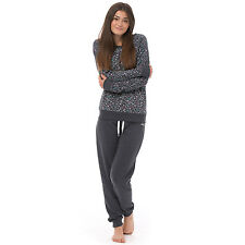 Animal Womens Pyjama Set Sweater Jogging Bottoms Nightwear PJ's Loungewear