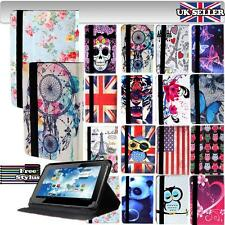 """For Denver TID/TAQ/TIQ/TAD 9"""" Models Tablet - Folio LEATHER STAND CASE COVER"""