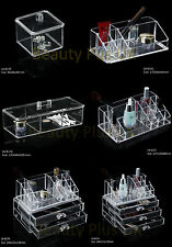 Clear Acrylic Cosmetic Make up Organizer Drawers Holder Case Box Jewelry Storage
