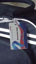 Novelty British Airways Club  Class Silver Luggage tag   Crew  ,Airplane