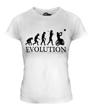 WHEELCHAIR BASKETBALL EVOLUTION OF MAN LADIES T-SHIRT TEE TOP GIFT