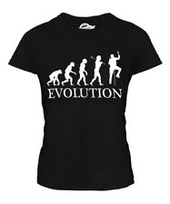 ICE CLIMBER EVOLUTION OF MAN LADIES T-SHIRT TEE TOP GIFT ICECLIMBING