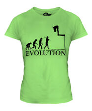 DIVING EVOLUTION OF MAN LADIES T-SHIRT TEE TOP GIFT DIVER SCUBA