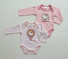HELLO KITTY PELELE DE MANGA LARGA TALLA 62 68 80 86 92