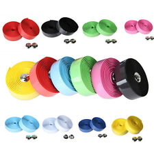 Handlebar Tape Bicycle Road Bike Sports Bicycle Cork Handlebar Wrap Tape Plug RC